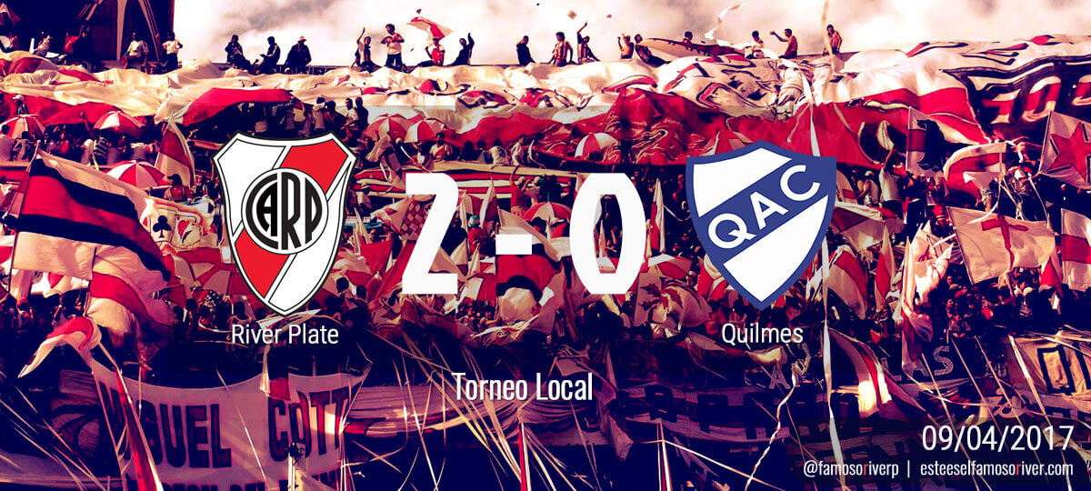 River 2 - Quilmes 0 - Torneo Local 09-04-2017