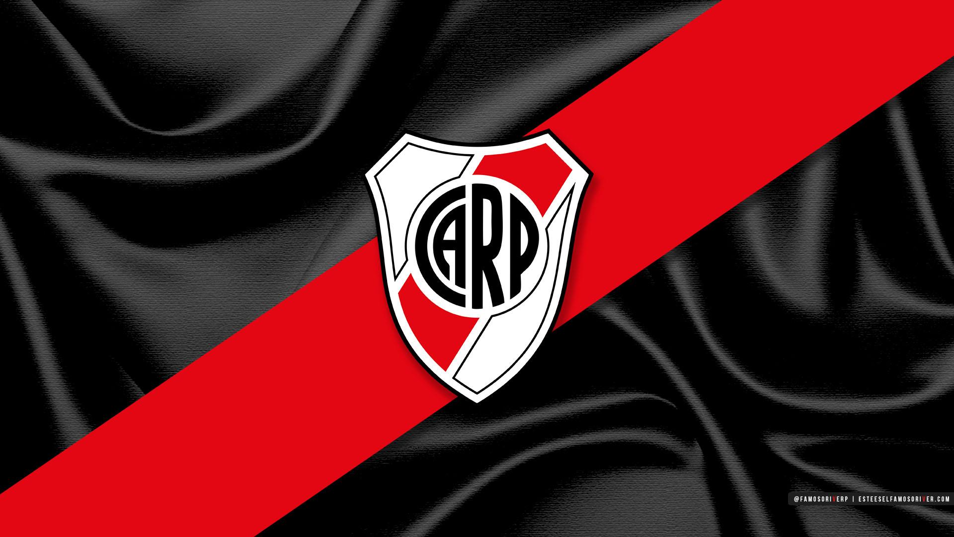 Descarga Fondo De Pantalla River Plate Escudo River Fondo Negro
