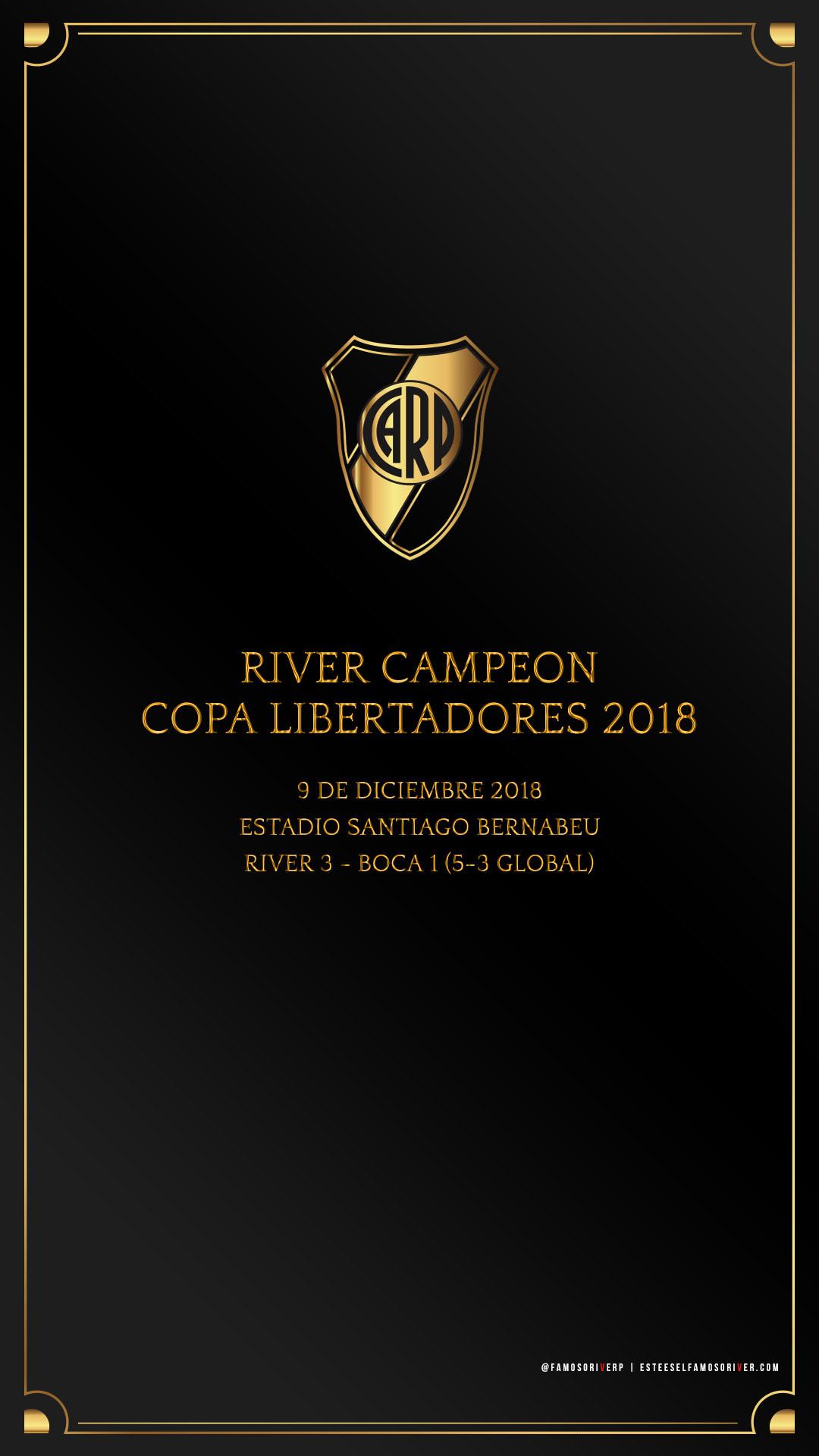 Descarga Fondo De Pantalla Celular River Plate River Campeón Copa