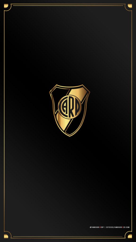 imagenes-de-river-plate-para-telefono-celular-fondos-de-pantalla-wallpaper-de-river-escudo river oro dorado
