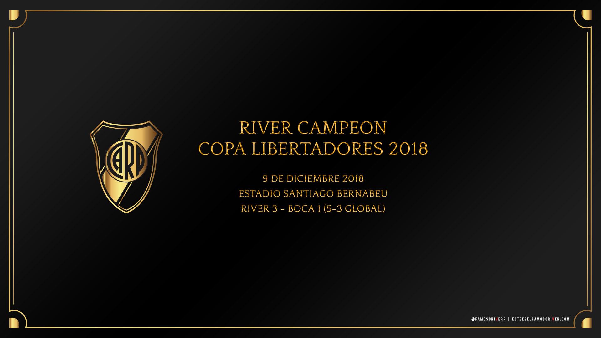 imagenes-de-river-plate-para-fondos-de-pantalla-wallpaper-de-river-campeon copa libertadores 2018