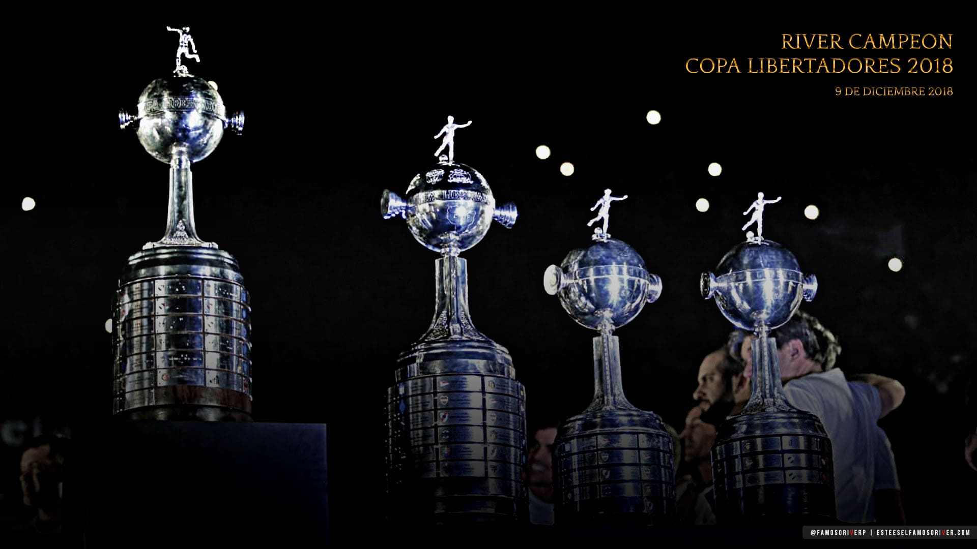 imagenes-de-river-plate-para-fondos-de-pantalla-wallpaper-de-river-campeon copa libertadores 2018 cuarta copa libertadores festejos en el monumental