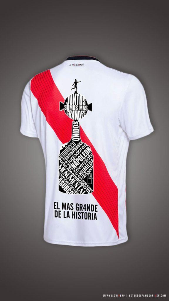 imagenes-de-river-plate-para-telefono-celular-fondos-de-pantalla-wallpaper-de-river-Camiseta River Campeón Copa Libertadores 2018