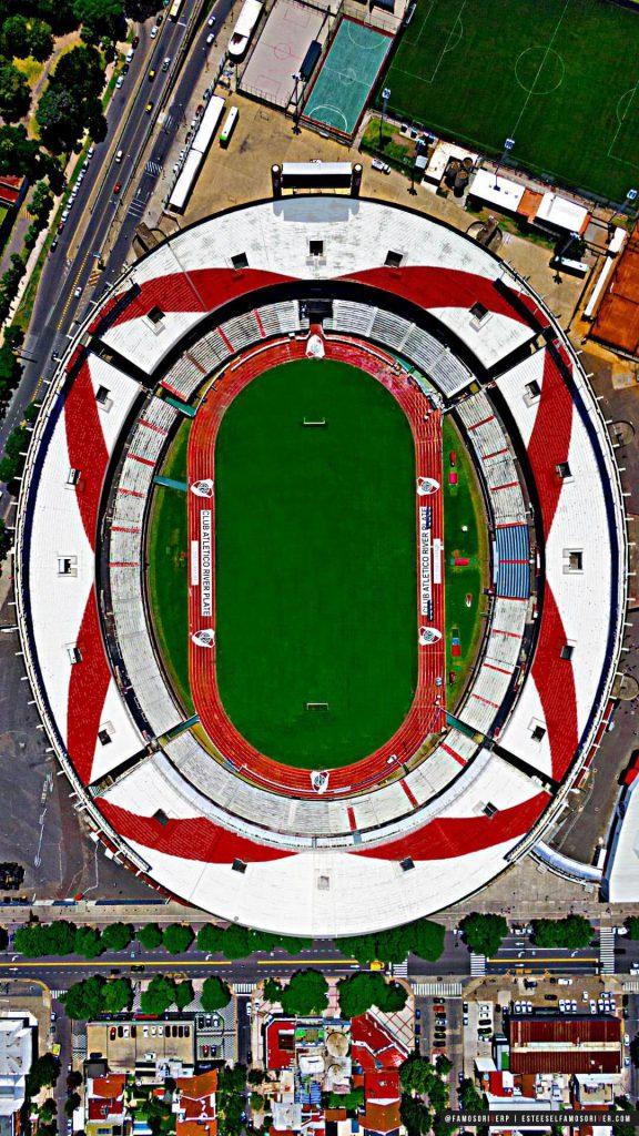 imagenes-de-river-plate-para-telefono-celular-fondos-de-pantalla-wallpaper-de-River-Estadio Monumental desde arriba, vista cenital. Estadio Vespucio Liberti