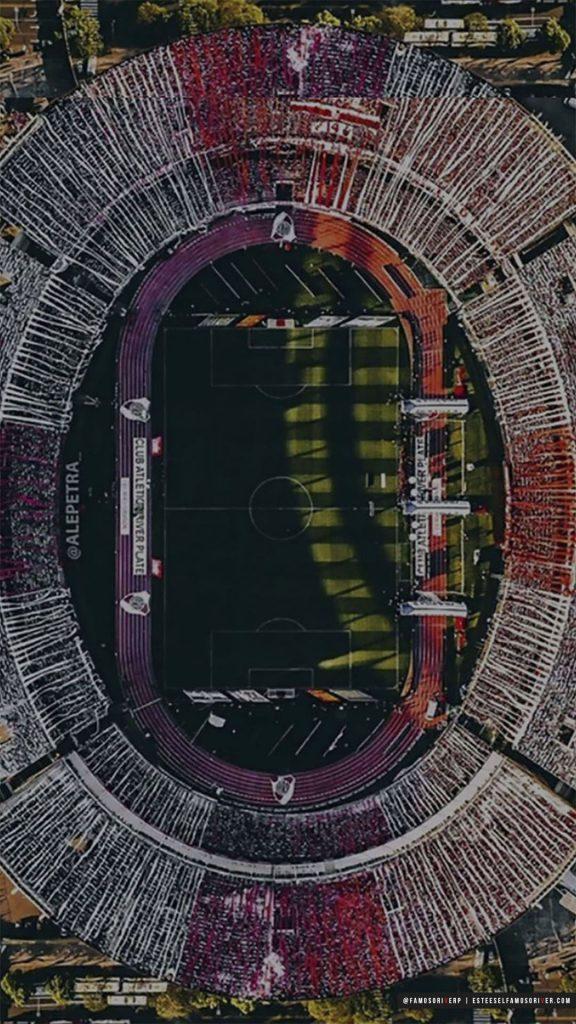 imagenes-de-river-plate-para-telefono-celular-fondos-de-pantalla-wallpaper-de-River-Estadio Monumental vestido de fiesta - Banderas