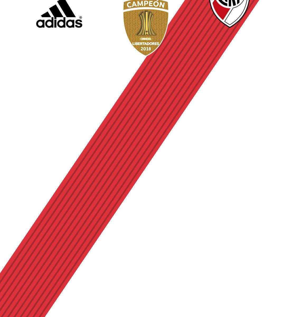 imagenes-de-river-plate-para-telefono-celular-fondos-de-pantalla-wallpaper-de-River-Camiseta River Plate Campeón Copa Libertadores 2018 - Parche Libertadores 2018