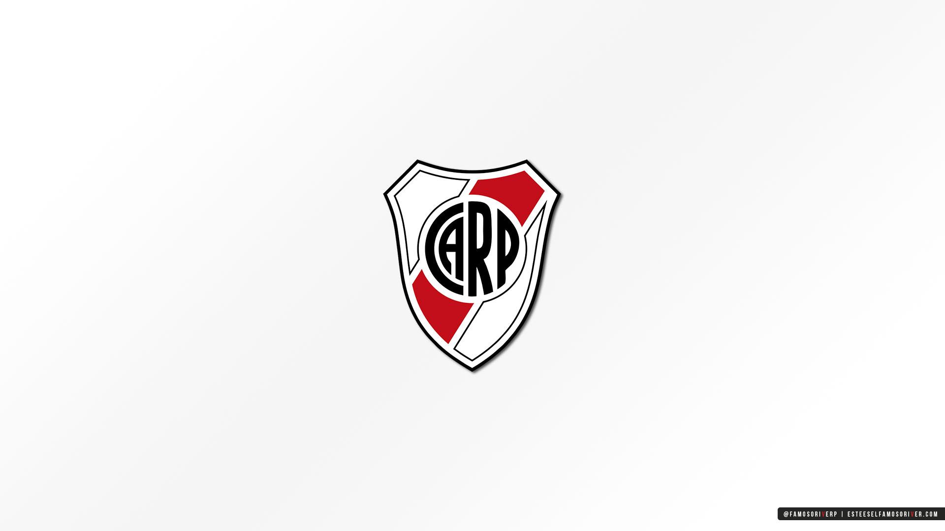 imagenes-de-river-plate-para-telefono-celular-fondos-de-pantalla-wallpaper-de-River-Escudo River Plate - Fondo blanco
