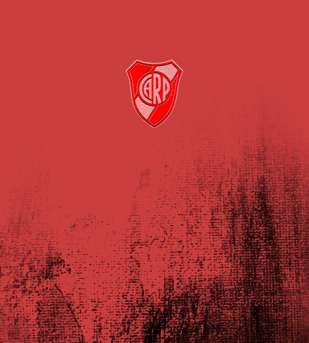 imagenes-de-river-plate-para-telefono-celular-fondos-de-pantalla-wallpaper-de-River-Escudo River Plate sobre fondo rojo y negro