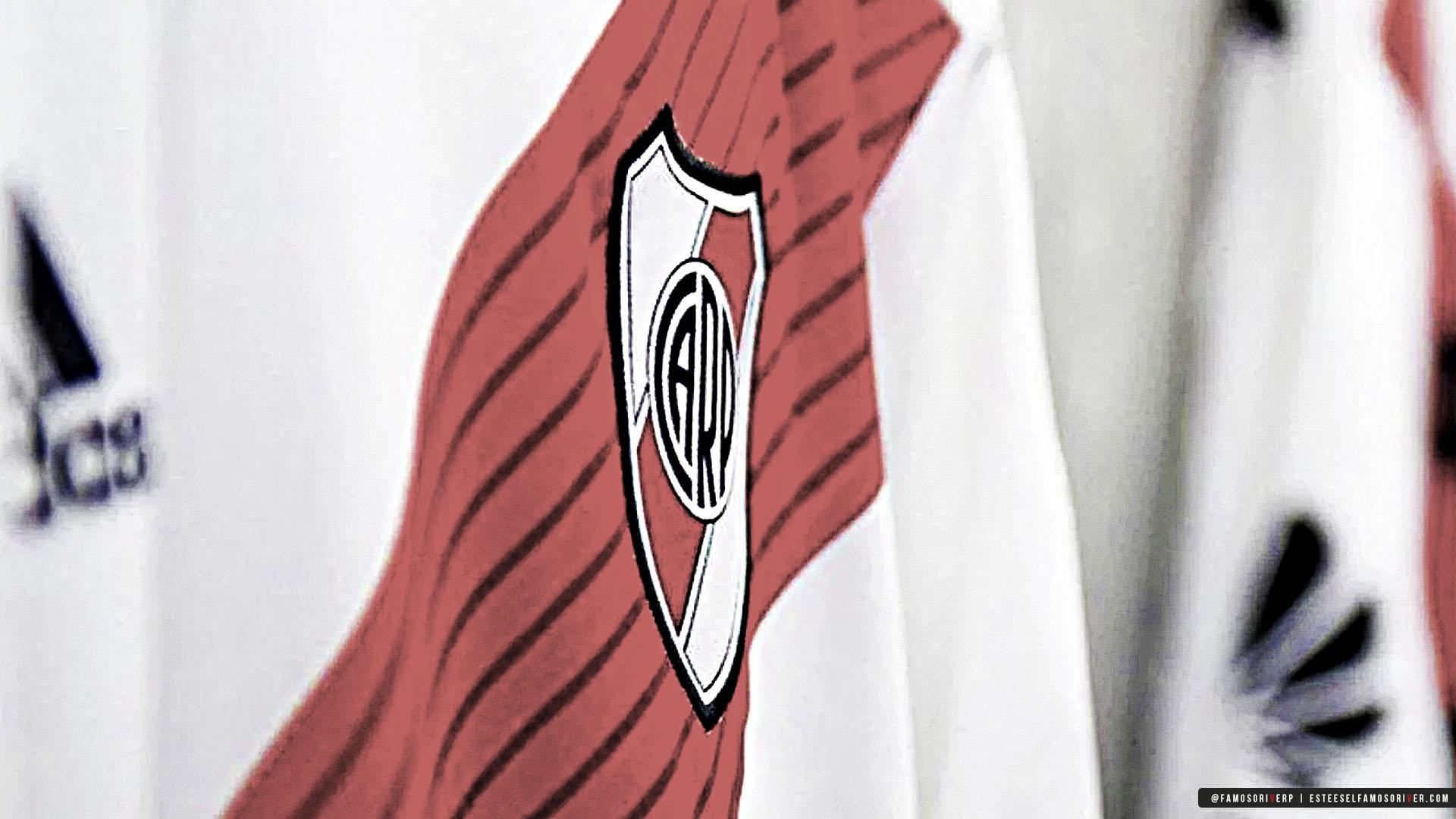 imagenes-de-River-Plate-para-fondos-de-pantalla-wallpaper-de-River-Camiseta de River Plate - Escudo