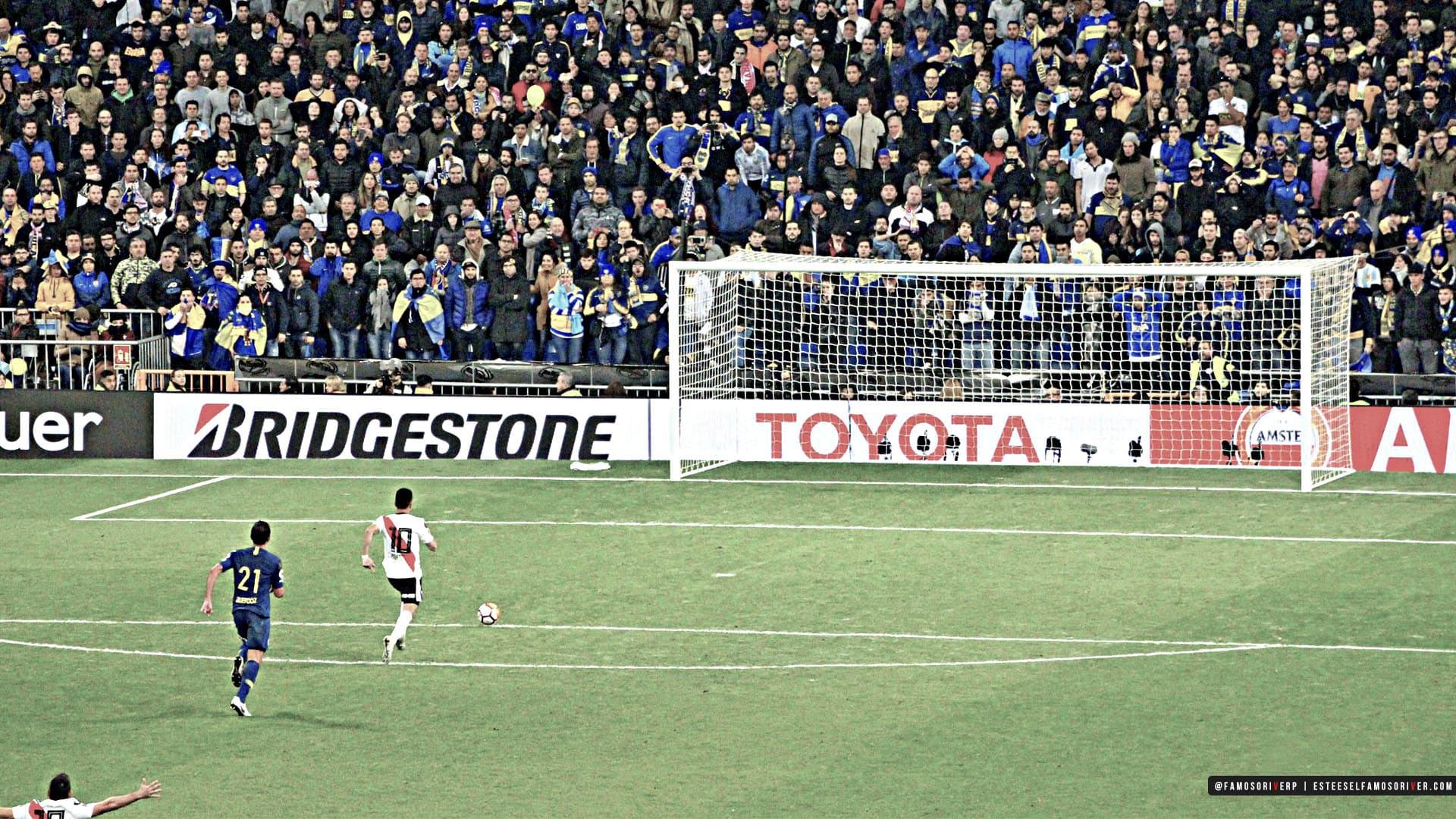 imagenes-de-River-Plate-para-fondos-de-pantalla-wallpaper-de-River- Pity gol a boca en la final de la copa Libertadores. Y va el tercero y va el tercero bernabeu. Pity corriendo solo al gol