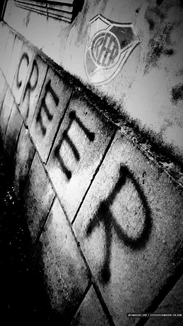 imagenes-de-river-plate-para-fondos-de-pantalla-para-celular-wallpaper-de-river-Creer Graffiti